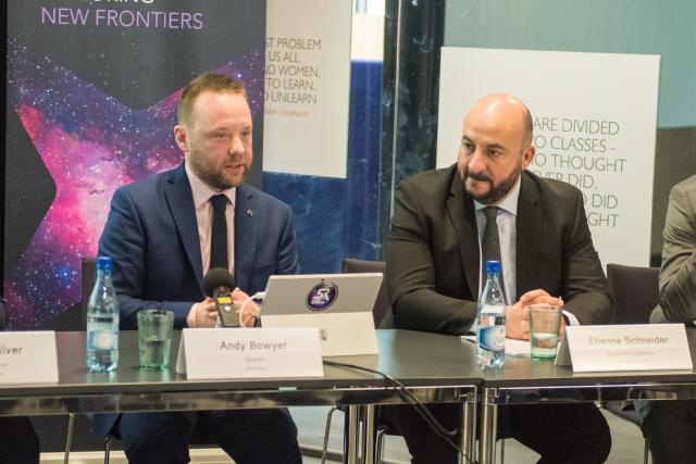 «La cotation à la Bourse australienne a été favorisée par l'important support que nous avons reçu de la part du gouvernement luxembourgeois et de l'écosystème local», a indiqué Andy Bowyer, le CEO de Kleos Space. (Photo: Kleos Space)