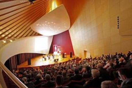 La conférence magenta horizons se tenait ce jeudi à la Philharmonie. (Photo: Olivier Minaire - Linklaters)