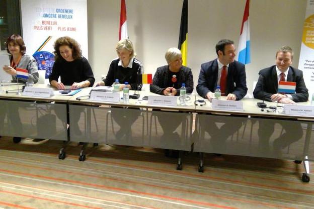 Le Luxembourg était représenté par Marc Hansen, ministre délégué à l'Enseignement supérieur et à la Recherche (à droite sur la photo). (Photo: SIP)
