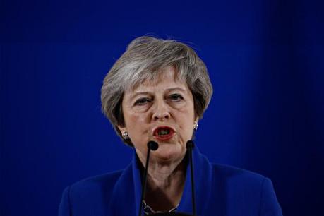 Theresa May a plaidé sa cause durant une heure devant ses collègues européens. (Photo: Shuttersctock)