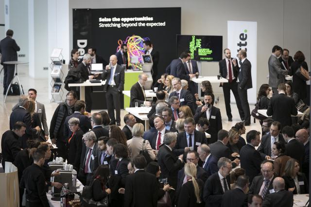La conférence sur la distribution transfrontalière de fonds a connu un beau succès. (Photo: Michel Zavagno - Blitz)