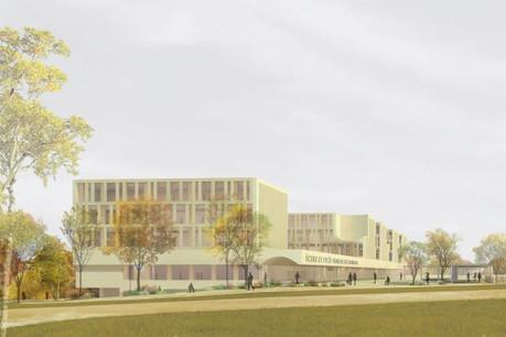 Le site du futur campus représente 5,4 hectares. (Photo: Atelier d'architecture du centre)