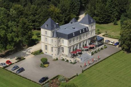 Le Château du Bois d'Arlon, une perle dans un domaine boisé, aux portes du Luxembourg. (Photo : CBA)