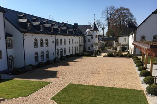 Une extension qui vaut au château de doubler sa capacité d'accueil.  (Photos: Château d'Urspelt)