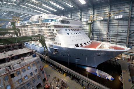 Le carnet de commandes de Meyer Werft est plutôt bien rempli avec huit bateaux de croisière qui seront finalisés d'ici 2019. (Photo: Meyer Werft)