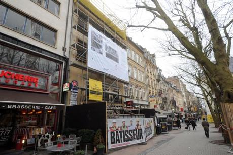 Au cœur de la capitale, le Grand Café s'apprête à retrouver son cachet originel. (Photo: Christophe Olinger)