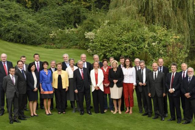 Les 27 commissaires européens passent leur oral devant le Parlement. Un exercice déjà réalisé par le président Jean-Claude Juncker. (Photo: Parlement européen)