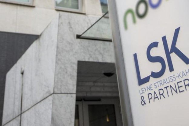 LSK est domiciliée boulevard Royal. (Photo: Luc Deflorenne)