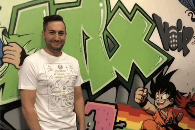 Loïc Didelot, fondateur et PDG de MIXvoip. (Photo: MIXvoip)