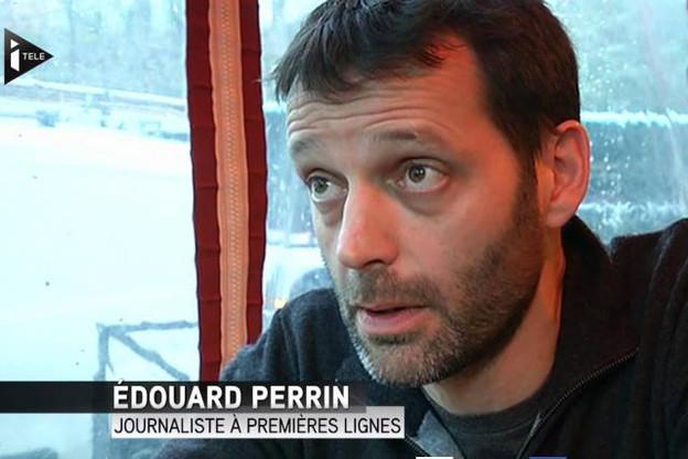 Édouard Perrin a largement participé au succès des LuxLeaks avec le consortium ICIJ. (Photo: YouTube / iTélé)