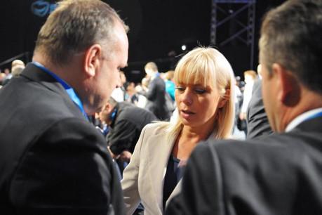 La commissaire polonaise Elżbieta Bieńkowska veut que les États membres assument leur rôle de gardien de la loi face à VW. (Photo: Licence C.C.)