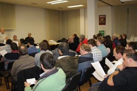 Les membres du LCGB-SESM ont examiné le projet de convention ce lundi. (Photo: lcgb.lu)