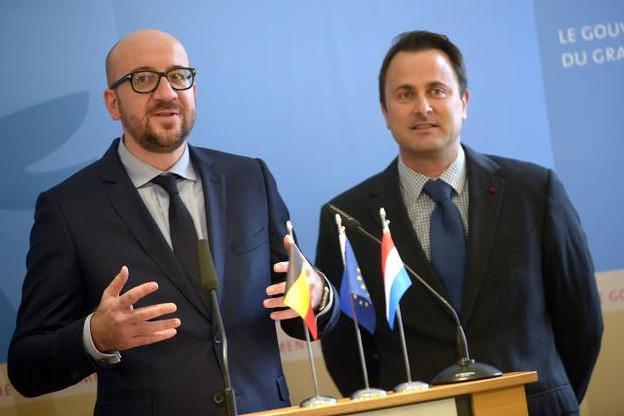 Des solutions pour les frontaliers belges. Michel et Bettel s'étaient engagés dans ce sens lors d'une rencontre en novembre dernier. (Photo: Christophe Olinger / archives)