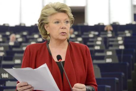 Viviane Reding sera l'invitée de la British Chamber of Commerce for Luxembourg ce vendredi.  (Photo: European Union 2016 - Source : EP)