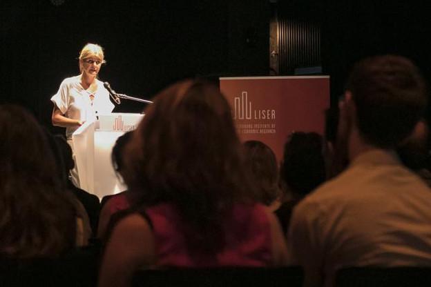 Nommée le 1er septembre 2016, Aline Muller a su donner une nouvelle dynamique à l'institut de recherche. (Photo: Liser)