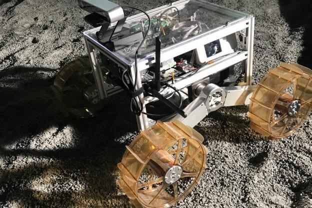 D'ici septembre 2020, le détecteur développé par le List équipera le rover mobile d'Ispace. (photo: paperJam)