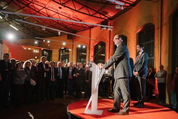 Si Étienne Schneider n'hésite pas à tirer à boulets rouges sur le CSV, Claude Haagen se montre plus prudent et n'exclut officiellement aucun partenaire éventuel de coalition. (Photo: Marion Dessard)