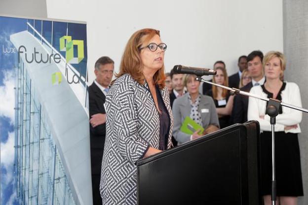Pour Karin Schintgen, directrice du Lux Future Lab, le Luxembourg a les atouts nécessaires pour attirer les start-up étrangères. (Photo: Luc Deflorenne )