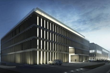 Le Luxembourg est prêt à réserver une partie du bâtiment Moonlight, qui doit sortir de terre en 2018, au futur siège de l'Autorité bancaire européenne. (Illustration: Atelier d'architecture et de design Jim Clemes