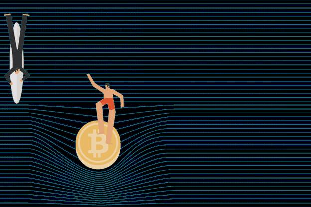 Au-delà de leur aspect spéculatif, le réel intérêt des cryptomonnaies serait donc technologique. (Illustration: José Carsí / Maison Moderne)