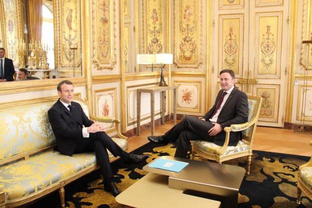 Le Premier ministre, Xavier Bettel, a tenu bon face à un président Macron enclin à obtenir une rétrocession fiscale pour financer les infrastructures éprouvées par les frontaliers côté français.  (Photo : ME)