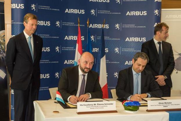 La signature doit aussi ouvrir des collaborations autour de l'initiative Spaceresources du Luxembourg. (Photo: SIP / Charles Caratini)
