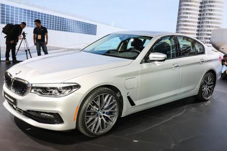 La nouvelle 530e iPerformance de BMW fait partie des modèles qui ont fait progressé les ventes de la marque depuis le début de cette année. (Photo: DR)