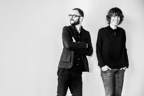 Arnaud Mouriamé & Anne Kieffer du Studio delle Alpi (Photo: David Laurent)