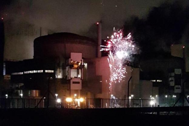 EDF estime avoir rapidement maîtrisé la situation dans l'enceinte de la centrale de Cattenom. Le Luxembourg reste inquiet. (Photo: Greenpeace)