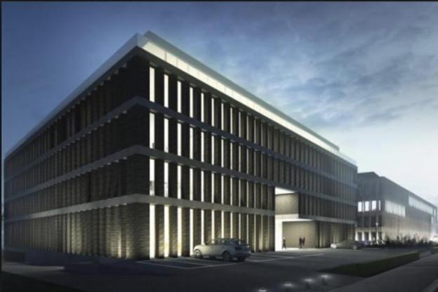 L'ABE pourrait s'établir route d'Arlon, au Moonlight, si le dossier luxembourgeois est retenu. (Photo: Atelier d'architecture Jim Clemes)