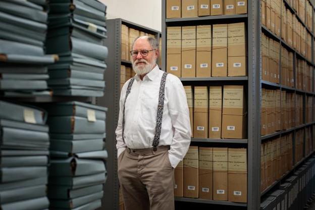 Analyse – Charles Barthel est un historien luxembourgeois, spécialisé dans la politique industrielle du Grand-Duché, du 19e et du 20e siècle. (Photo: Matic Zorman)