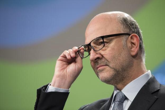 Pierre Moscovici et Pierre Gramegna ne partagent pas le même avis en ce qui concerne l'imposition du numérique. ( Photo : Lukasz Kobus / Commission européenne )
