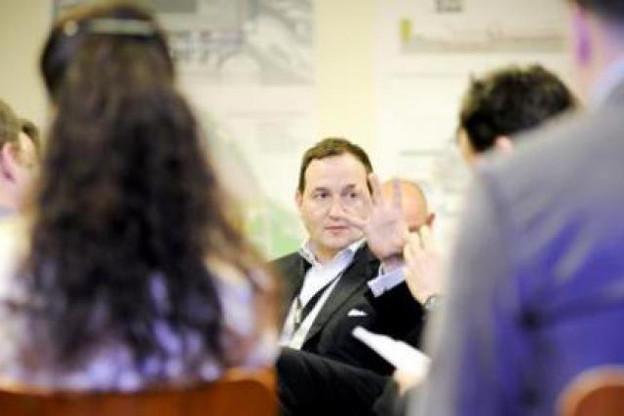 Martin Heyse (BNP Paribas Real Estate): «En 2010, les acteurs du Benelux ont dominé le marché des investissements.» (Photo: David Laurent/Wide/archives)