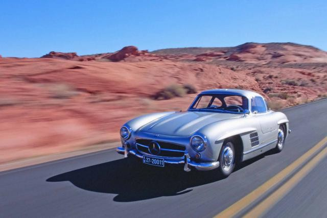 Mercedes 300 SL Gullwing de 1954 (crédit photo: SAP)
