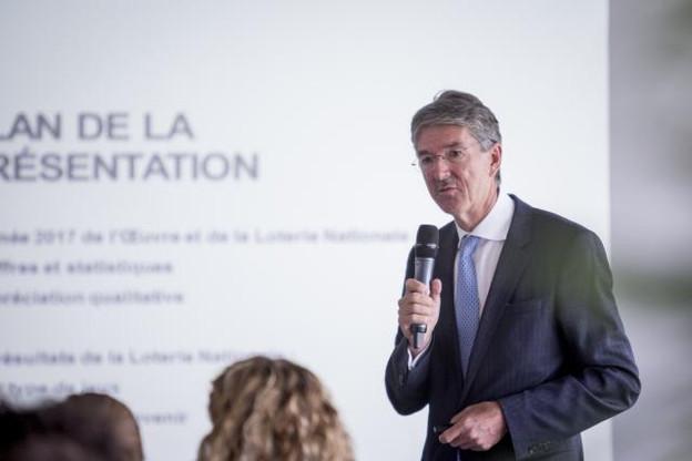 Pierre Bley, président de l'Œuvre nationale de secours Grande-Duchesse Charlotte, a présenté le bilan2017, en baisse par rapport à l'année2016, qui était exceptionnelle. (Photo: Patricia Pitsch)