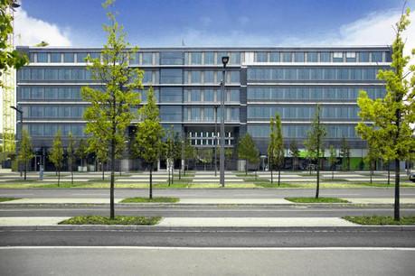 Le marché immobilier de bureaux reste influencé en partie par les besoins des institutions européennes, comme ici avec la BEI au Kirchberg. (Photo: JLL)