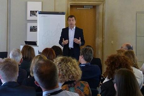 Laurent Annet en formation au Paperjam Business Club Crédit Photo: WSI
