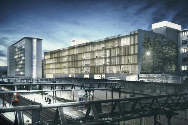 Les travaux destinés à «améliorer l'image de cette partie de la ville» doivent commencer au cours de l'été 2017 et durer un an. (Photo: WW+ architektur + management s.à.r.l.)