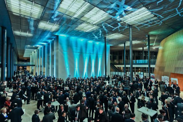 Le Paperjam Club fédère sa communauté pour des événements tantôt intimistes, tantôt de grande facture. Ici lors du «Paperjam Top 100 – Les décideurs économiques les plus influents». (Photo: Gaël Lesure / archives)