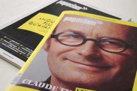 En couverture ce mois-ci: Claude Turmes, député européen Déi Gréng. (Photo: Maison Moderne Design)
