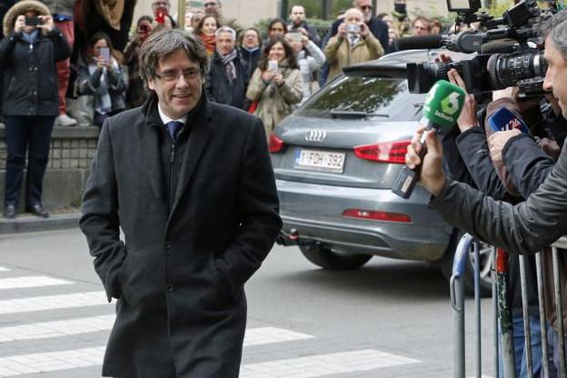 Carles Puigdemont devra défendre sa position contre le ministère public du tribunal de Bruxelles. (Photo: Licence C. C.)