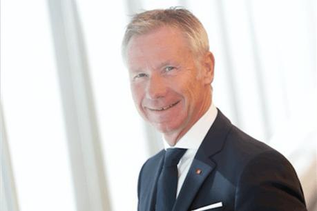 Marc Raisière a pris la tête du pôle Assurance de Belfius en 2012, avant de prendre la direction du groupe deux ans plus tard. (Photo: www.belfius.be)