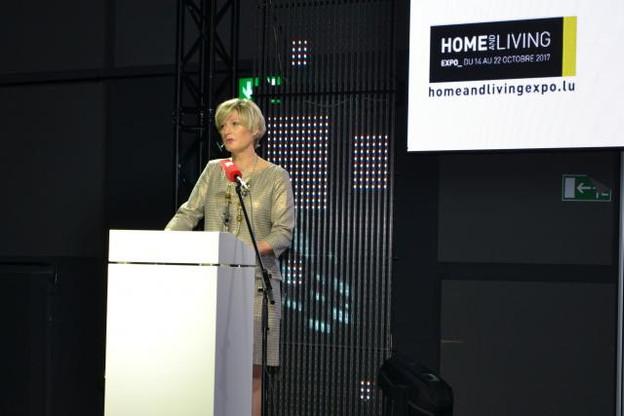 Francine Closener, secrétaire d'État à l'Économie, a annoncé le lancement prochain d'une plateforme en ligne pour aider les commerçants luxembourgeois. (Photo: ministère de l'Economie)