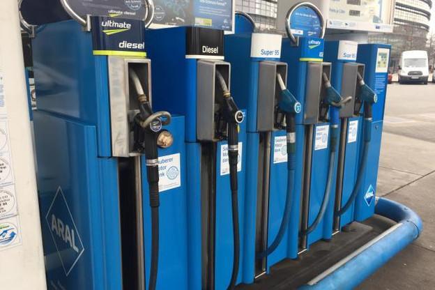Au Luxembourg, les carburants ne coûtent pas plus cher qu'en 2005. (Photo: Shutterstock )