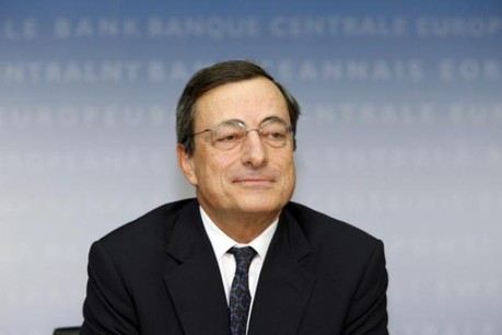 Mario Draghi a surpris l'ensemble des observateurs avec ses mesures de quantitative easing. (Photo: BCE)