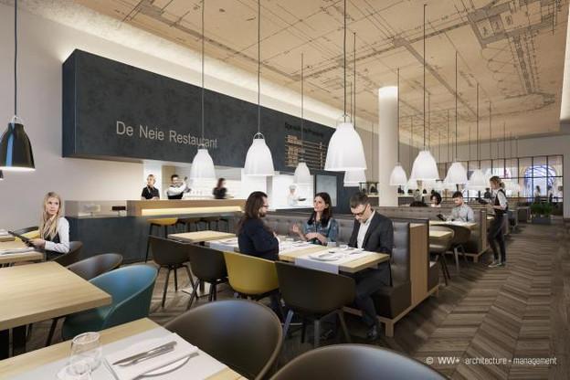 Voilà ce à quoi devrait ressembler le Quai Steffen, le nouveau Buffet de la Gare. (Photo: WW+)