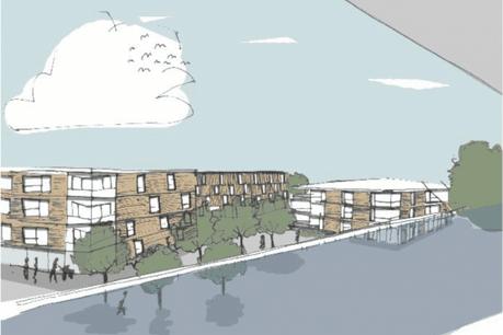 L'ancienne cité militaire de Diekirch sera transformée en zone urbaine mixte. (Photo: ministère du Logement)