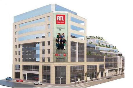 Les équipes de RTL seront voisines du siège du groupe M6. (Photo: RTL)