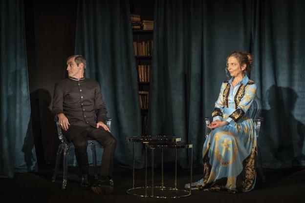 Frédéric Largier et Colette Kieffer incarneront Alceste et Célimène. (Photo: Ricardo Vaz Palma)