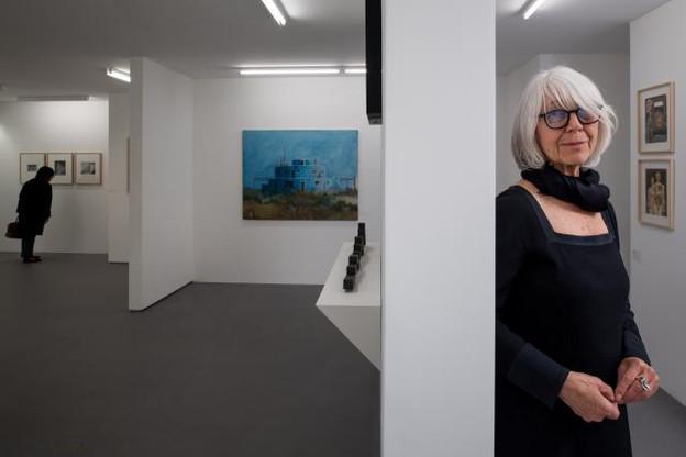 Erna Hecey a choisi d'ouvrir sa nouvelle galerie dans un appartement au Limpertsberg. (Photo: Nader Ghavami)